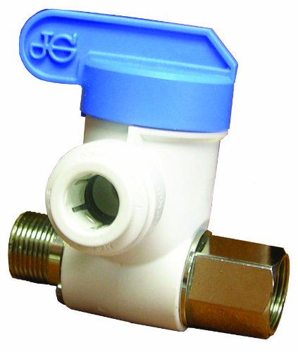 JG Speedfit ASVPP1LF 3/8-Inch by 3/8-Inch by 1/4-Inch Angle Stop Adapter Valve