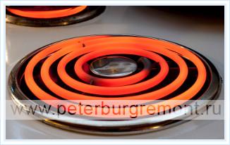 Мощность электрической плиты - электрические конфорки